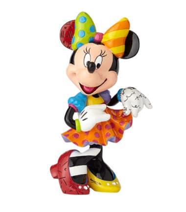 Britto Disney Minnie Mouse 90th Anniversary Large Figurine