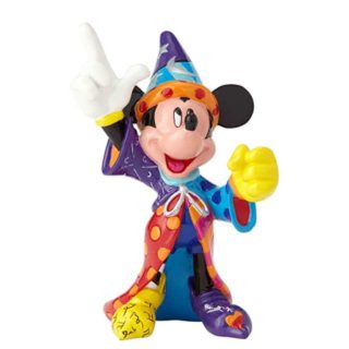 Britto Disney Sorcerer Mickey Mini Figurine. Disney by Britto Collection