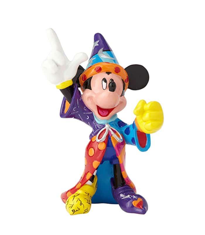 03a12cf9d3bd42 Britto Disney Sorcerer Mickey Mini Figurine