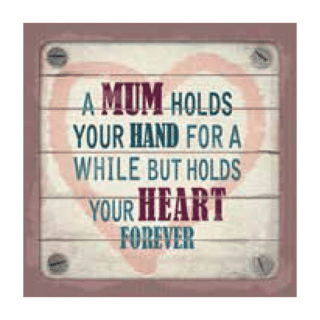 Personalised Cuppa Coasters - A mum holds your hand