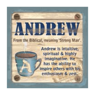 Personalised Cuppa Coasters - Andrew