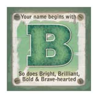 Personalised Cuppa Coasters - B (Male)