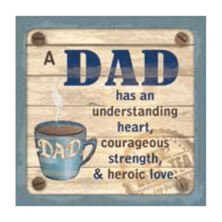 Personalised Cuppa Coasters - Dad