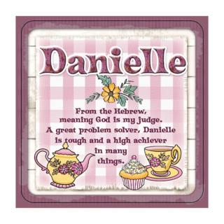 Personalised Cuppa Coasters - Danielle