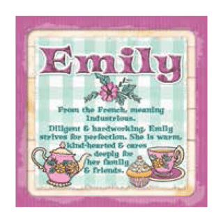 Personalised Cuppa Coasters - Emily