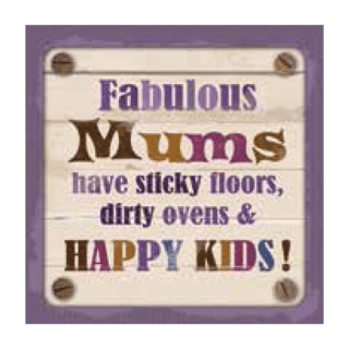 Personalised Cuppa Coasters - Fabulous mums,