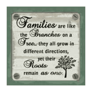 Personalised Cuppa Coasters - Families