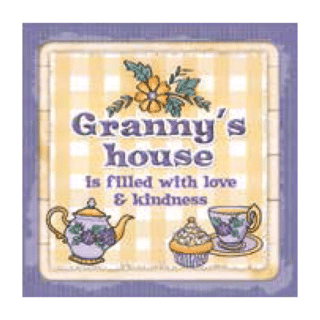 Personalised Cuppa Coasters - Granny's house