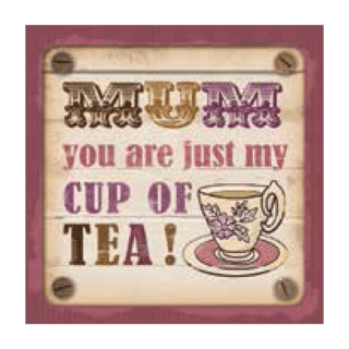 Personalised Cuppa Coasters - Cup of tea