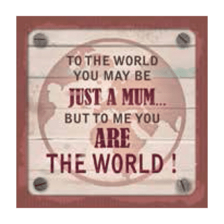 Personalised Cuppa Coasters - You are the world
