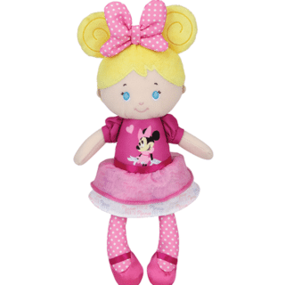 Disney Baby - Blonde Doll in Minnie Mouse Dress