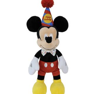 Disney Baby - Birthday Micky Mouse Plush Toy