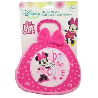 Disney Baby - Minnie Bow Cute Purse Shaped Soft Book