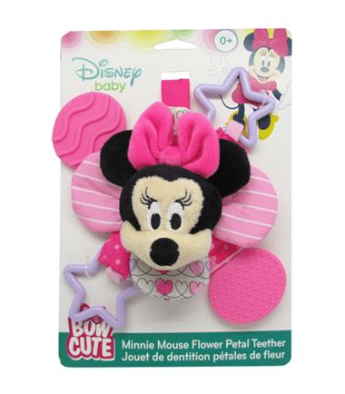 Disney Baby - Minnie Pink Petal Teether Rattle
