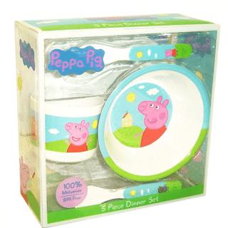 Peppa Pig - Piece of 5 Dinner Set