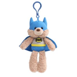 DC Superhero Friends - Batman Gund Bear Plush Backpack Clip