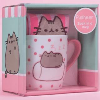 Pusheen - Marshmallow Pusheen Sock in a Mug