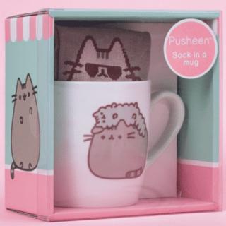 Pusheen - Stormy Sock in a Mug