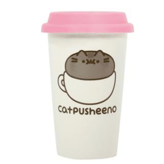 Pusheen - Catpusheeno Ceramic Travel Mug