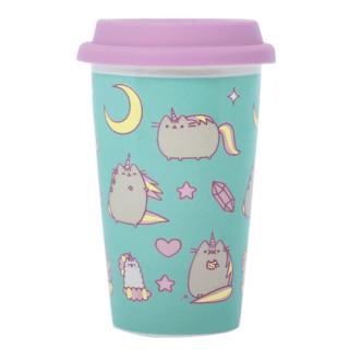 Pusheen - Galaxy Pusheenicorn Ceramic Travel Mug