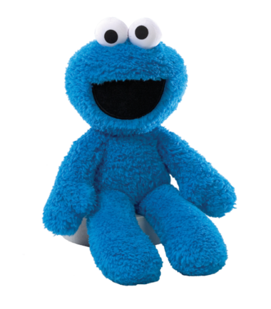 Sesame Street - Cookie Monster Take Along Plush