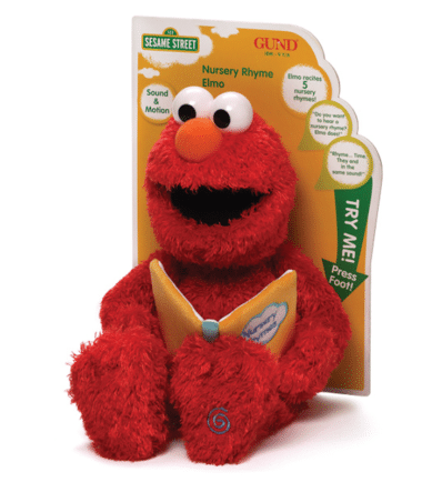 Sesame Street - Nursery Rhymes Elmo Soft Toy