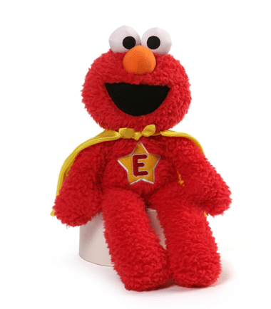 GUND Sesame Street - Superhero Elmo Take Along Plush
