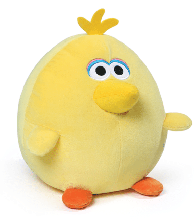 Sesame Street - Big Bird Large Egg Shaped Plush