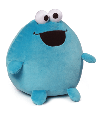 Sesame Street - Cookie Monster Large Egg Shaped Plush