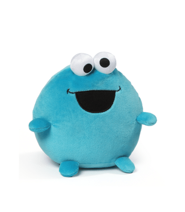 Sesame Street - Cookie Monster Small Egg Shaped Plush