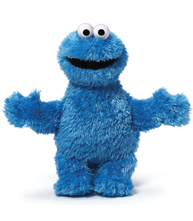 Sesame Street - Cookie Monster Small Plush