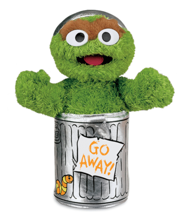 Sesame Street - Oscar the Grouch Small Plush