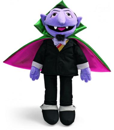 Sesame Street - Count von Count Plush
