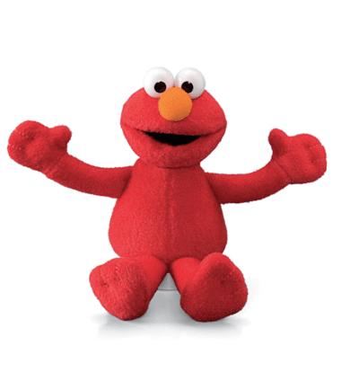 GUND Sesame Street Elmo Mini Beanie Plush