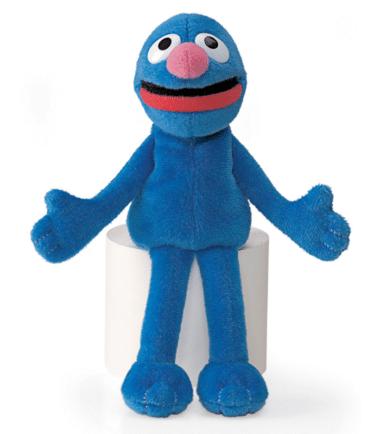 GUND Sesame Street Grover Mini Beanie Plush