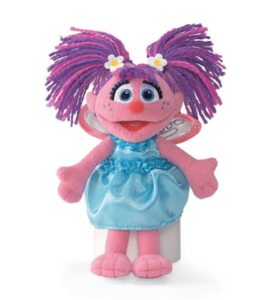 GUND Sesame Street Abby Cadabby Mini Beanie Plush