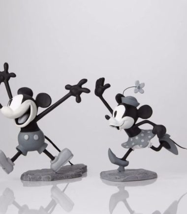 Walt Disney Archives Collection - Mickey & Minnie Black & White Maquette
