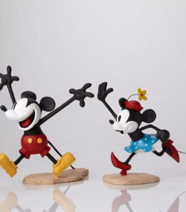 Walt Disney Archives Collection - Mickey & Minnie Colour Maquette