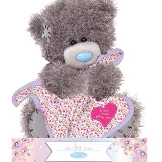 Me to You - A Hug from Me to You Blanket Plush Bear