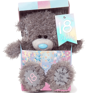 Me to You - Happy 18th Birthday Plush Bear