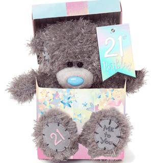 Me to You - 21st Birthday Plush Bear