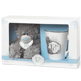Me to You - 18th Birthday Mug and Plush Bear Set