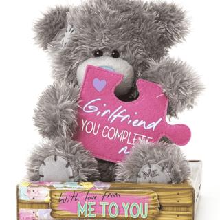 Me to You - Girlfriend Jigsaw Plush Bear