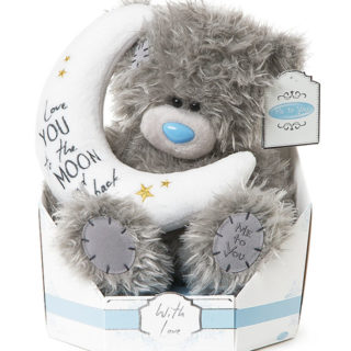 Me to You Signature Collection - Moon and Back Plush Bear