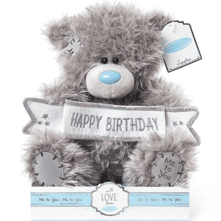 Me to You - Signature Collection - Happy Birthday Plush Bear