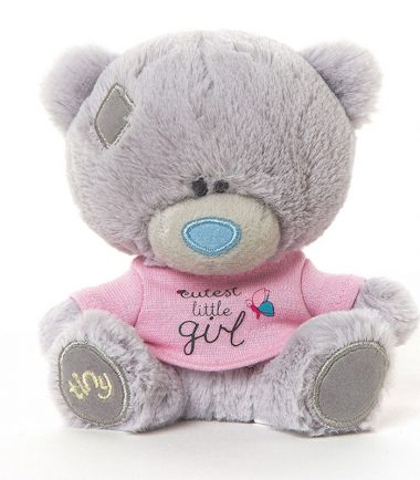 Tiny Tatty Teddy - Cutest Little Girl Plush Bear