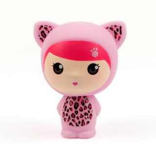 Wunzees – Lulu The Leopard Figurine. Collectables for little girls