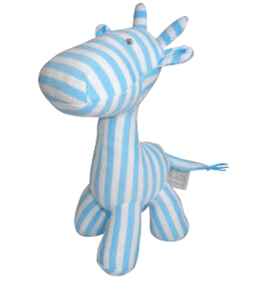 ES Kids - Blue Stripe Giraffe Rattle