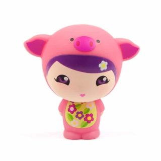 Wunzees – Penny The Pig Figurine. Gifts for Baby Girls