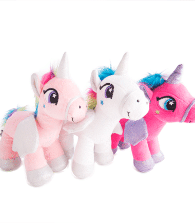 Standing Plush Unicorn